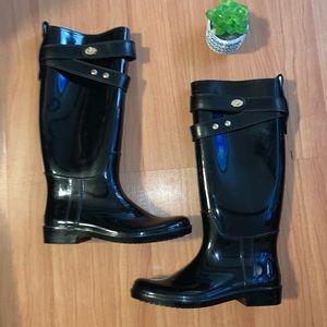 LIKE NEW Coach Rain Boots